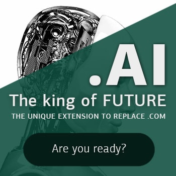 Get your .AI Domain on SALE only $59.99!